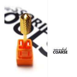 Carbide bit rounded abrasive