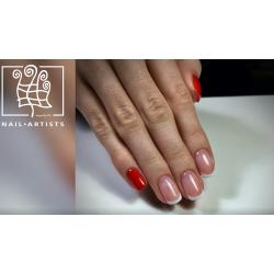 Soutěžní Soak OFF manicure